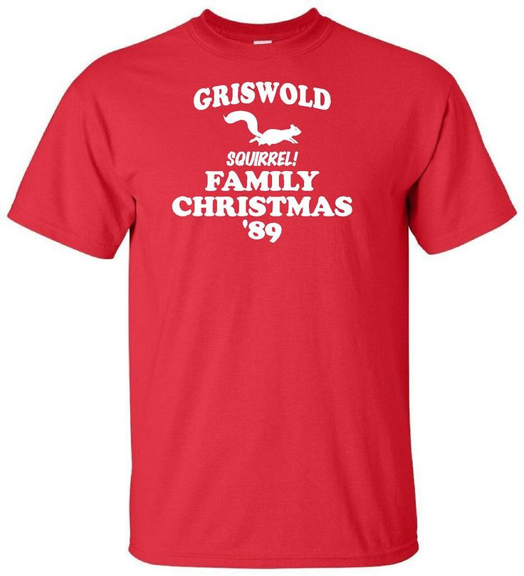 Griswold Family Christmas - Funny Christmas Vacation Squirrel T Shirt Adult Unisex Sizes Gildan Chevy Chase John Hughes Film 1989 Comedy by IsawThatOnPinterest on Etsy #christmasvacation #chevychase #johnhughes #squirrel #griswoldfamilychristmas #funnytshirt #uglysweater #christmas