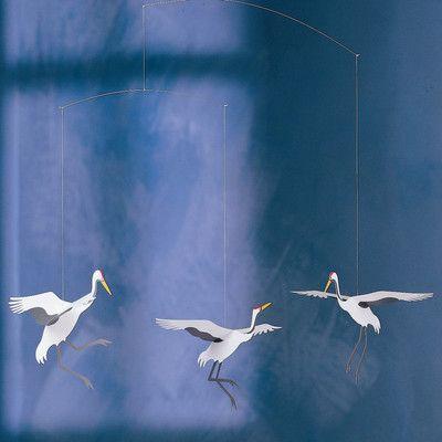 Flensted Mobiles Crane Dance Mobile | AllModern