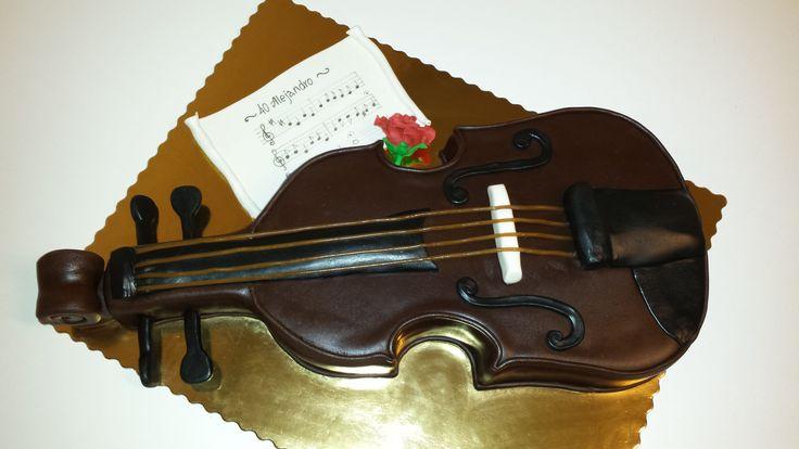 Tort skrzypce/ fjoltårta