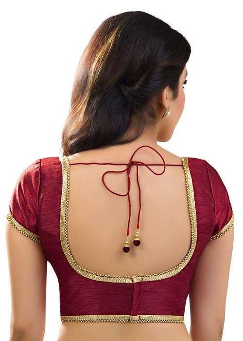 Polyester Silk Indian Wedding Blouse Top Choli Saree Bollywood Dupion BeelyDance
