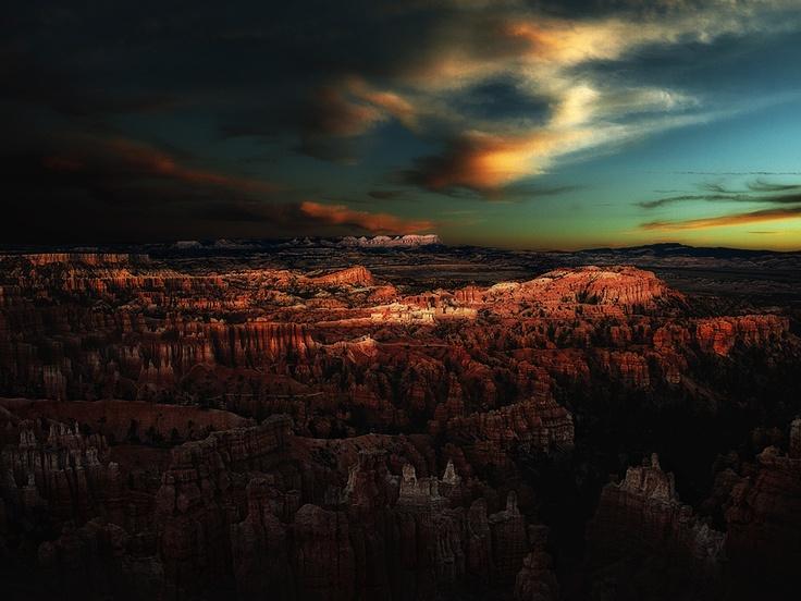 by Tony Dadson: Sunset, Tony Dadson, Photo, Bryce Canyon, Canyon National