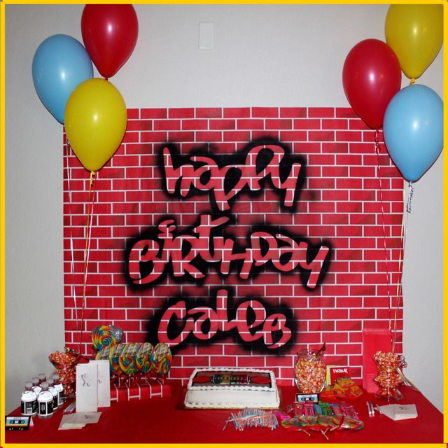 Old School Hip Hop Birthday Party Ideas In 2019