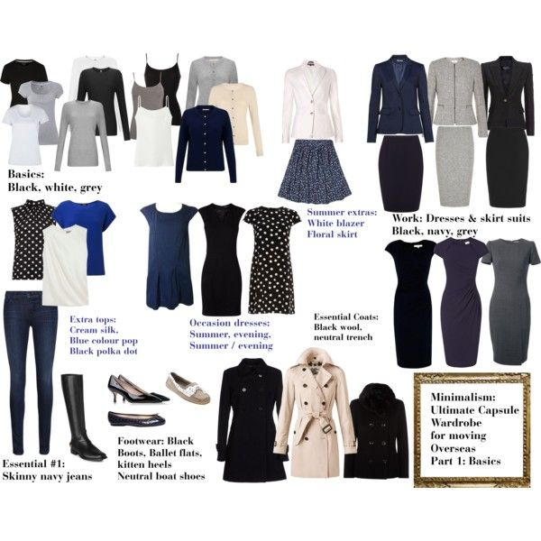 Minimalism: Ultimate capsule wardrobe part 1