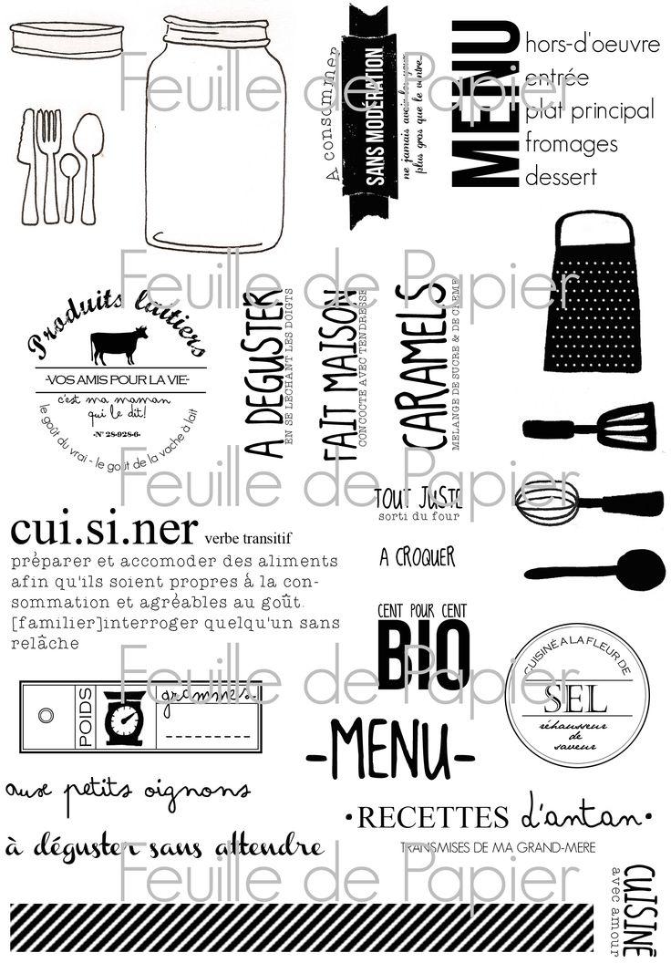 MATERIEL > Tampons > Marie-Laure Bollinger pour Feuille de papier > Collection N° 20 Aux petits oignons - Feuille de papier - Kits en ligne