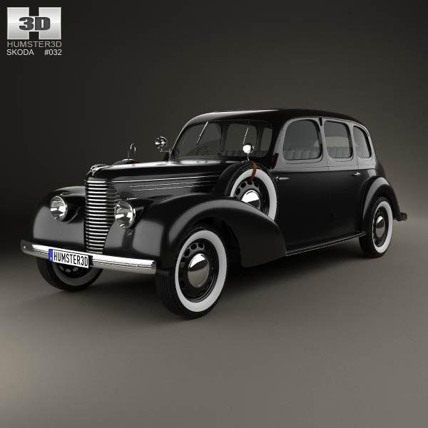 Skoda Superb OHV 1938 3d model from humster3d.com. Price: $75