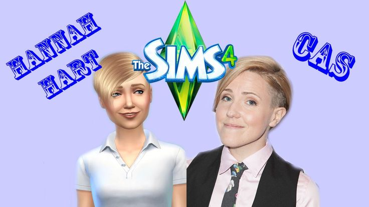 The Sims 4 CAS - Hannah Hart