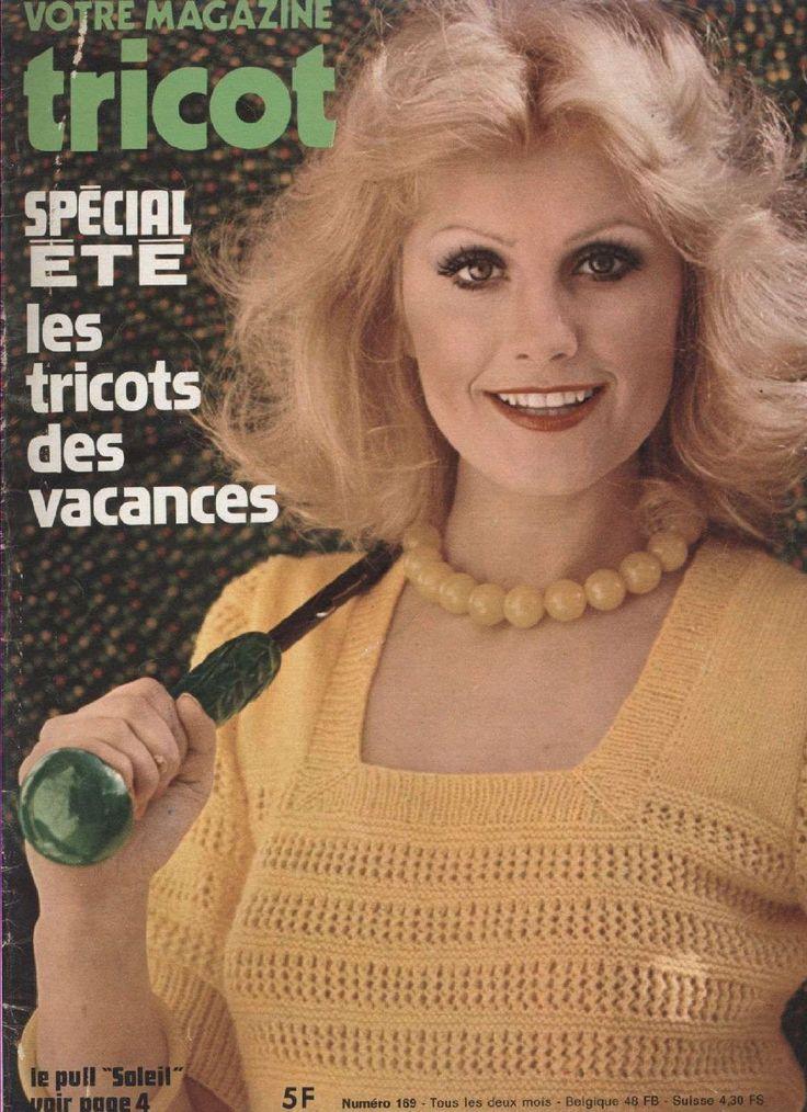1969 été. tuto tricot