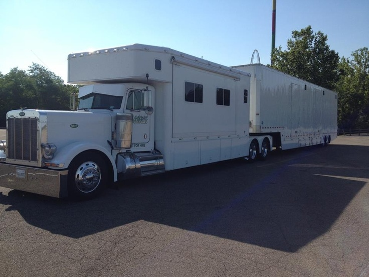 Ultimate Toy Hauler Peterbilt Campers Pinterest Toy