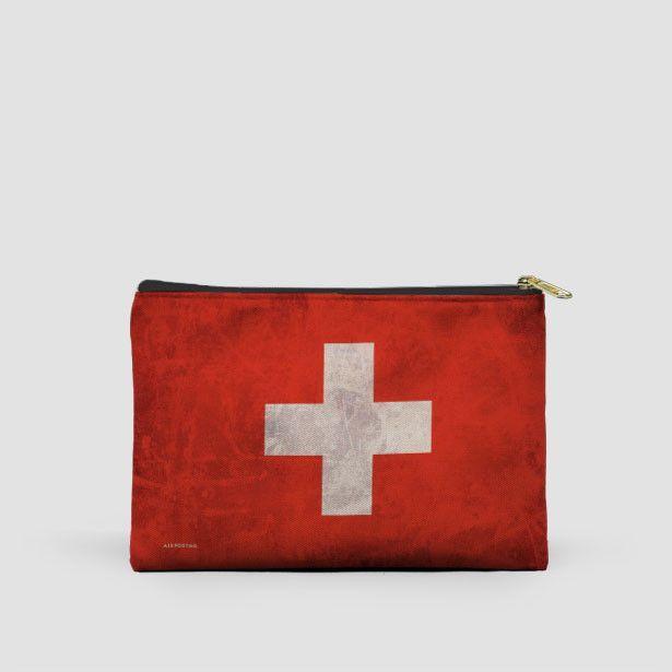 Switzerland Flag - Pouch Bag