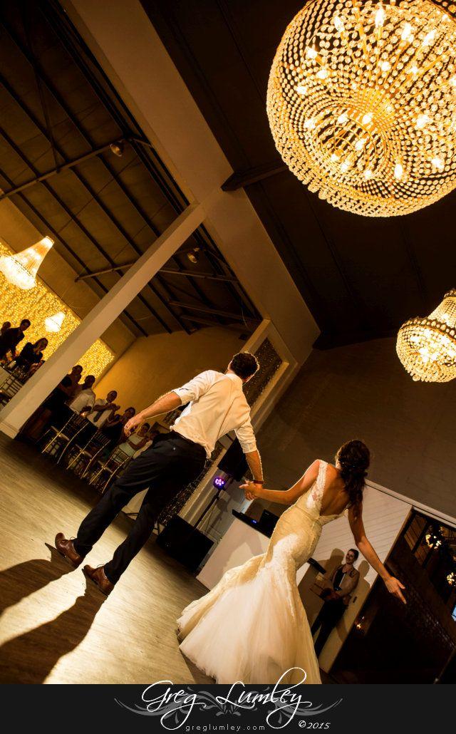Creative wedding dance photo at Ashanti Wine Estate