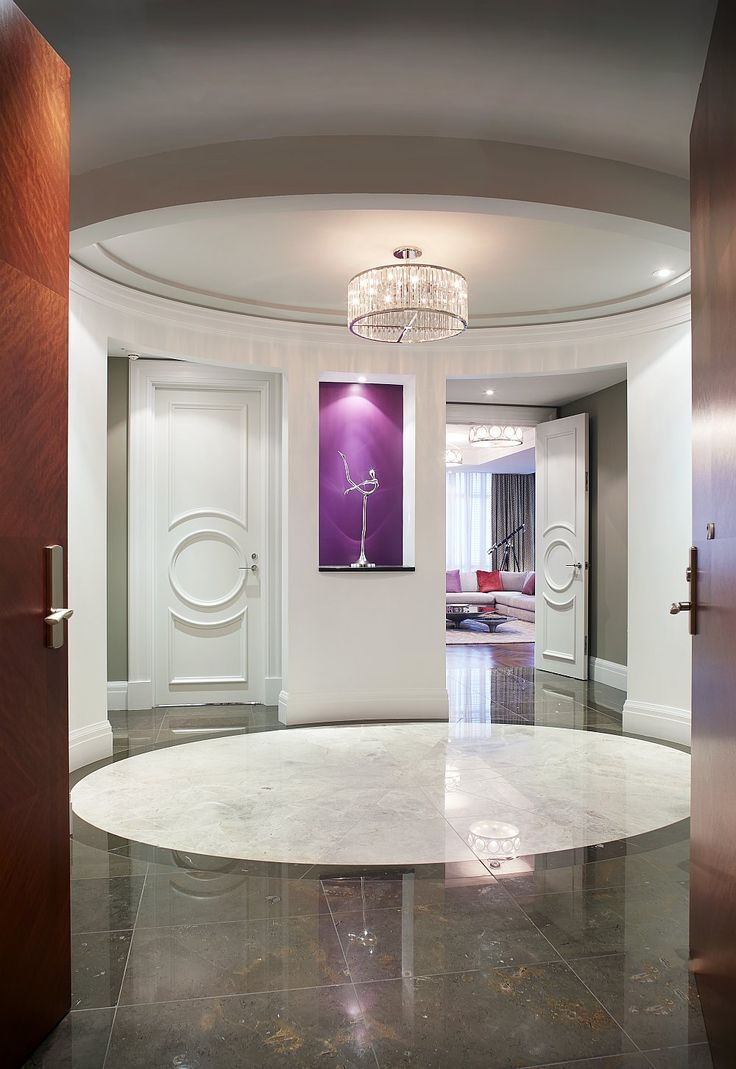 Brilliant blend of styles and geometric patterns inside The Residences, Ritz-Carlton