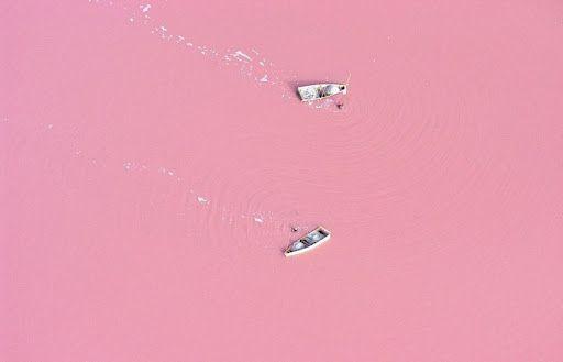 Lake Rose ,Senegal