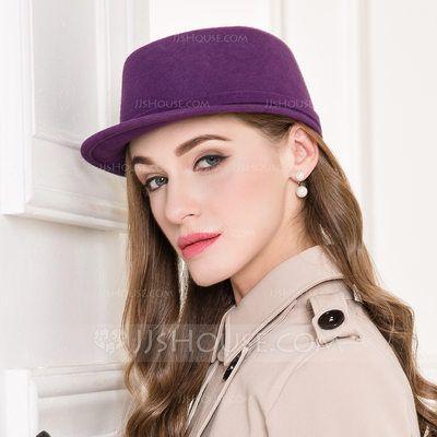 [US$ 30.99] Ladies' Vintage Wool Peaked Cap (196109820)