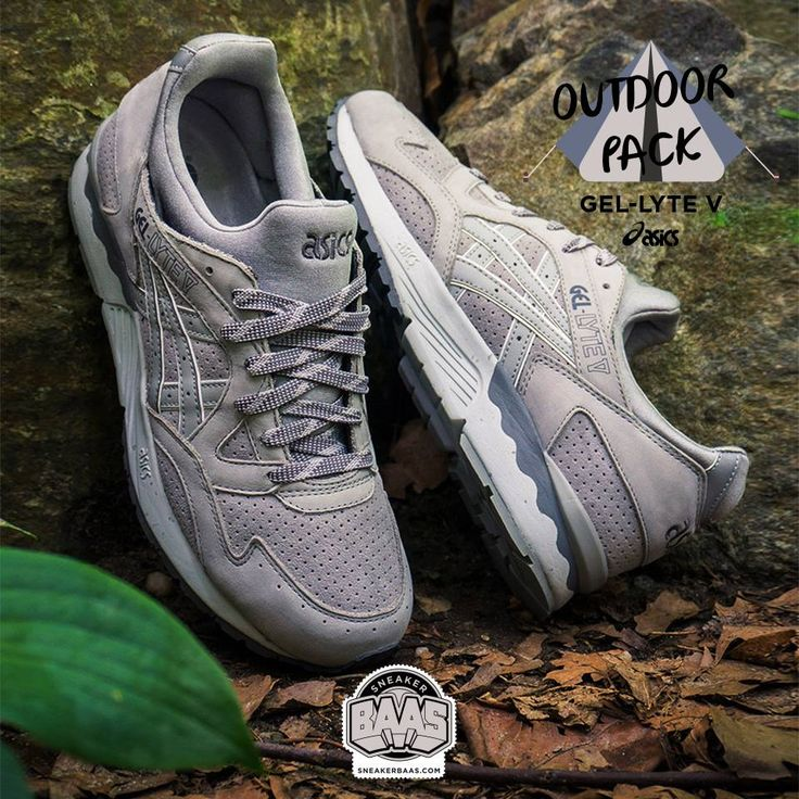 "#asics #gellyteV #Outdoorpack #sneakerbaas #baasbovenbaas  Asics Gel Lyte V ""Outdoor Pack"" - Now Available Online, priced at € 129,95  For more info about your order please send an e-mail to webshop #sneakerbaas.com!"