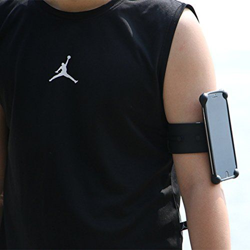 Vaste Sports Running Armband Waterproof for iPhone 7, 6, 6S (4.7-Inch), Galaxy S3/S4, iPhone 5/5C/5S Silicone Material (black). EASY USING AND CONVINIENT: vaste slap running armband is the easiest armband to wear on the market. Just slap it on, wear it in 3 seconds, convinient to reply message, answer call and listen musci. EASY WASH, WATERPROOF AND SKIN CARE: unlike the conventional armband which uses the clothes or leather , vaste armband uses the silicone material. Silicone is not only...