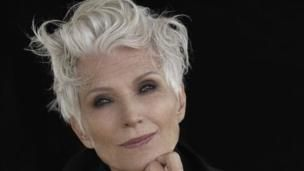 """Maye Musk: """"I am just getting started"""" as a model, aged 69 - BBC News"""