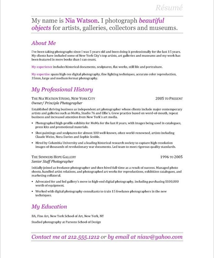 sample research resume - Onwebioinnovate