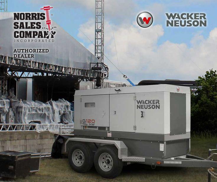 Wacker Neuson, mobile generator G120