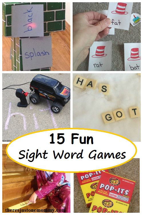 15 Fun Ways to Practice Sight Words at Home