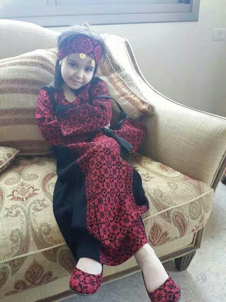 تطريز يدوي فلسطيني palestinien embroidered dress