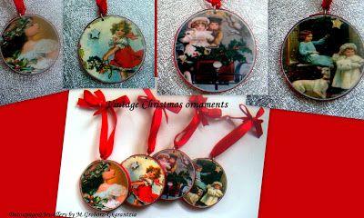 Christmas time - ART84MART    DECOUPAGE   & JEWELLERY