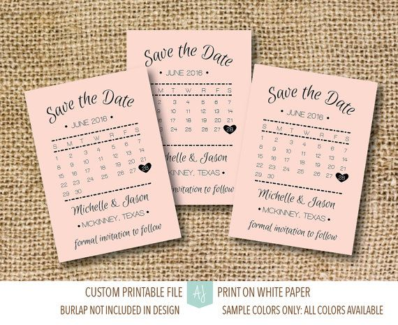 Matching Save The Date And Wedding Invitations: 1000+ Ideas About Save The Date Examples On Pinterest