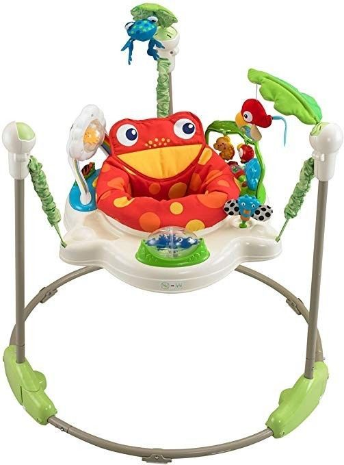 3b7a6f40537c Details about Fisher-Price Luv U Zoo Jumperoo V0206 - Preowned ...
