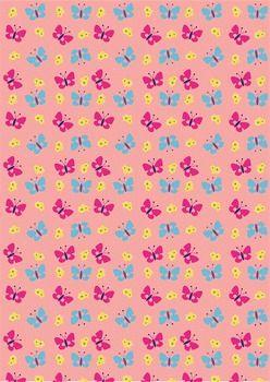 BACKGROUND PAPER - 12 BUTTERFLY AND FLOWER DESIGNS - TeachersPayTeachers.com