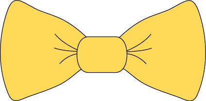Yellow Bow Tie