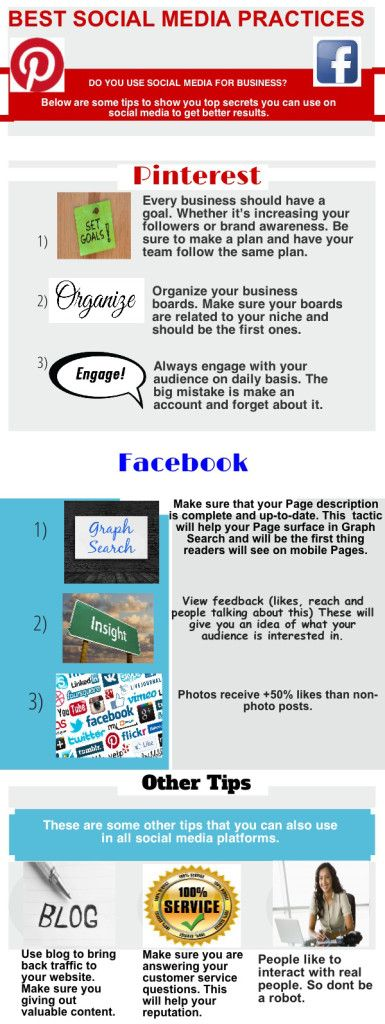 """Best social media practices. """"REPIN"""" if you like! #smm #marketing #business"""