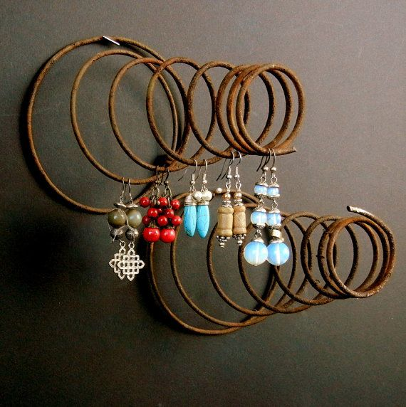 Great idea for earrings. Two Vintage Victorian COIL CHAIR SPRINGS  //  by EclectibleParts4U, $38.00
