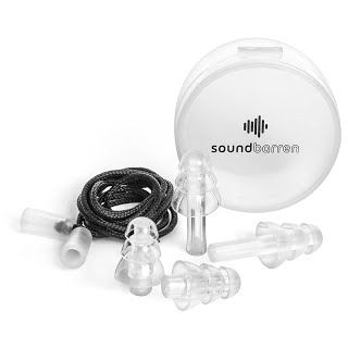 [REVIEW] SoundBarren Ear Plugs, 1 Reusable Pair, 28dB Hearing Protection for Sleeping, Snoring, Shooting, Concerts, Musicians, and Travel