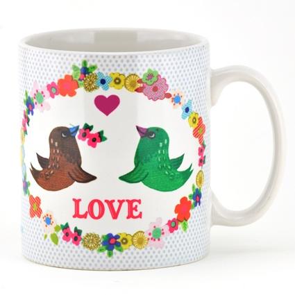 Love birds mug: Things, Early Bird
