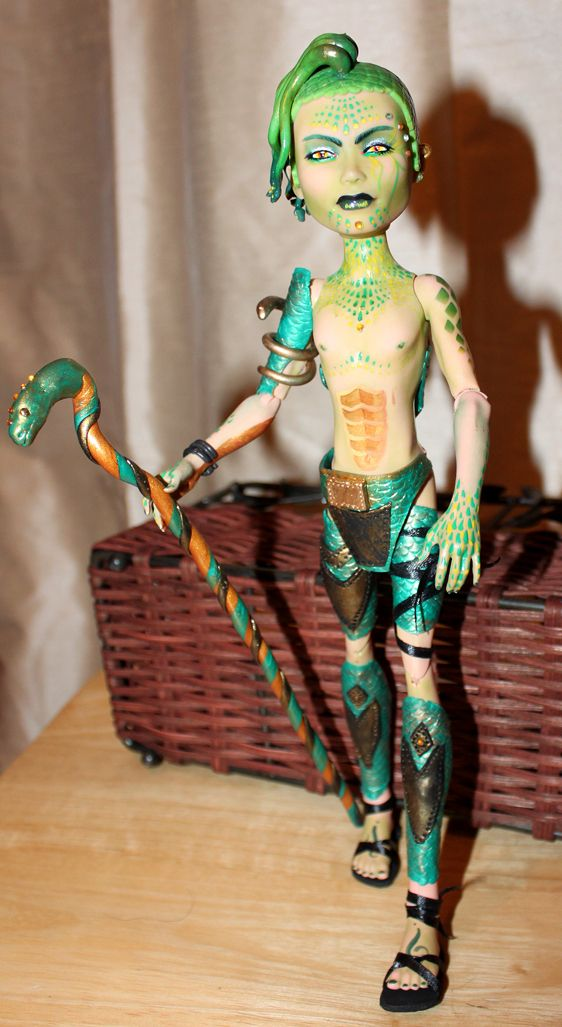 1000 images about monster high fan on pinterest - Monster high deuce gorgon ...