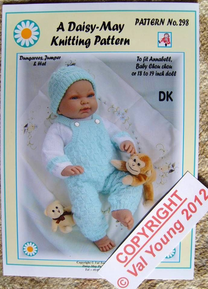 Daisy May Dolls Knitting Patterns : 72 best images about Daisy May Knitting Patterns on Pinterest