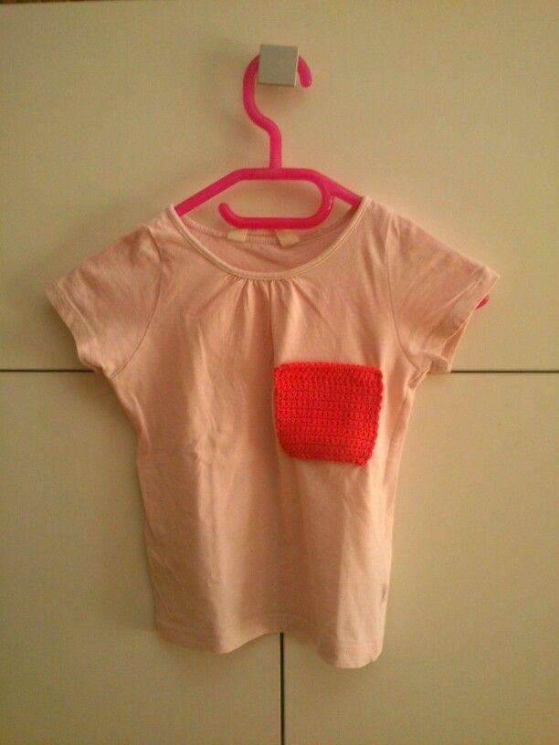 Camiseta niña tuneada