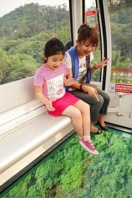 Maokong glass floored gondola lift, #Taipei, #Taiwan http://www.travelmagma.com/taiwan-travel-forum/things-to-do-in-taipei