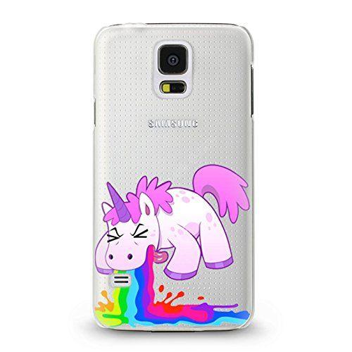 Handyhülle für Samsung Galaxy S5 Mini ( Einhorn ) und andere Modelle.