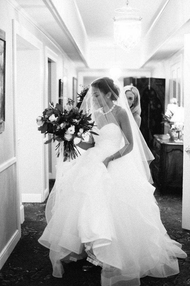 Real Wedding: Mckenzie + Tony :: Classic Romance In Hayley Paige
