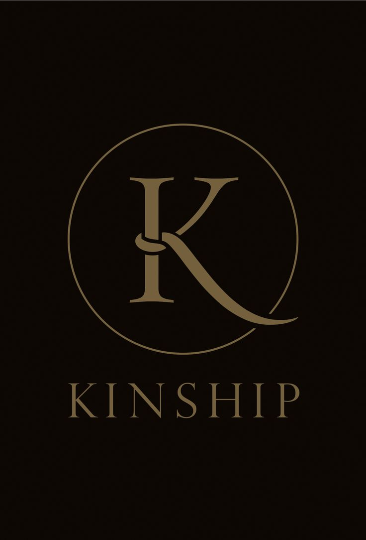 Kinship. Logo designed for refurbished luxury hotel bar based in Charlotte, USA.