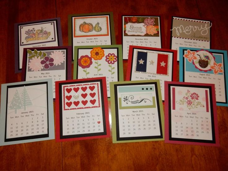 Diy Calendar Card : Calendar ideas a collection of to try about diy and