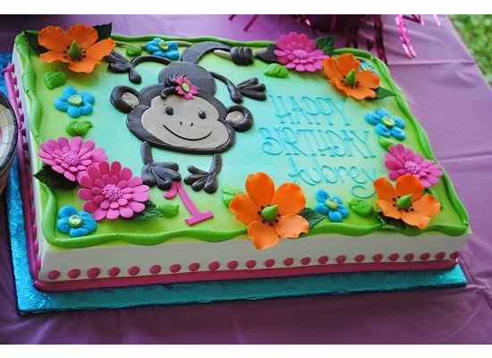 1st birthday monkey themed party :)