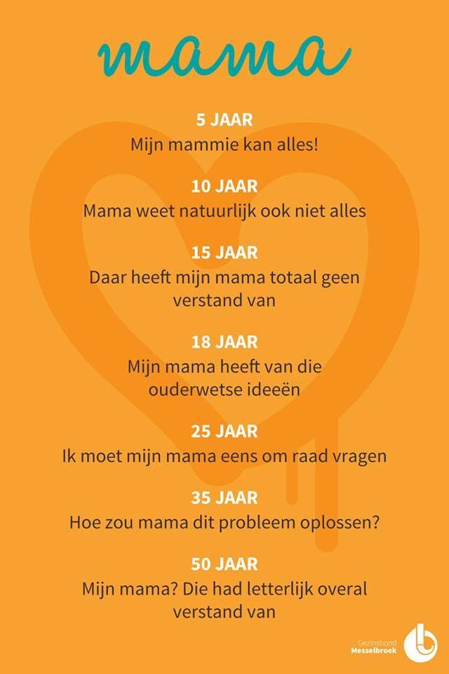 Hoe kostbaar je moeder (je ouders) eigenlijk voor je zijn..!