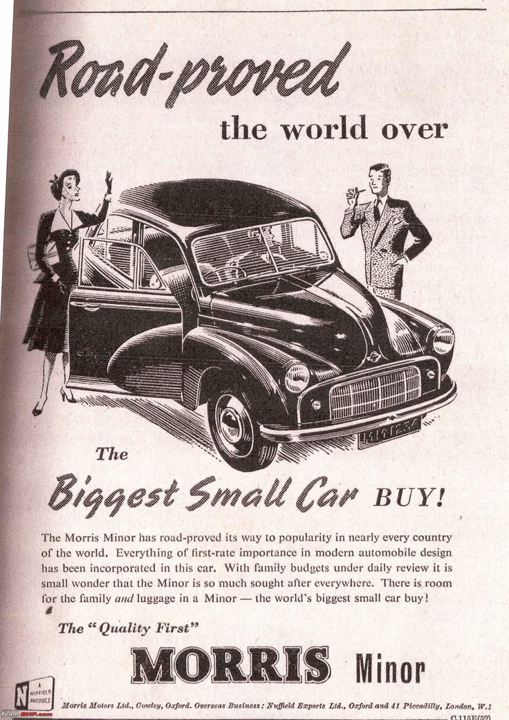 12 best Morris Car Ads images on Pinterest | Vintage cars, Br car ...