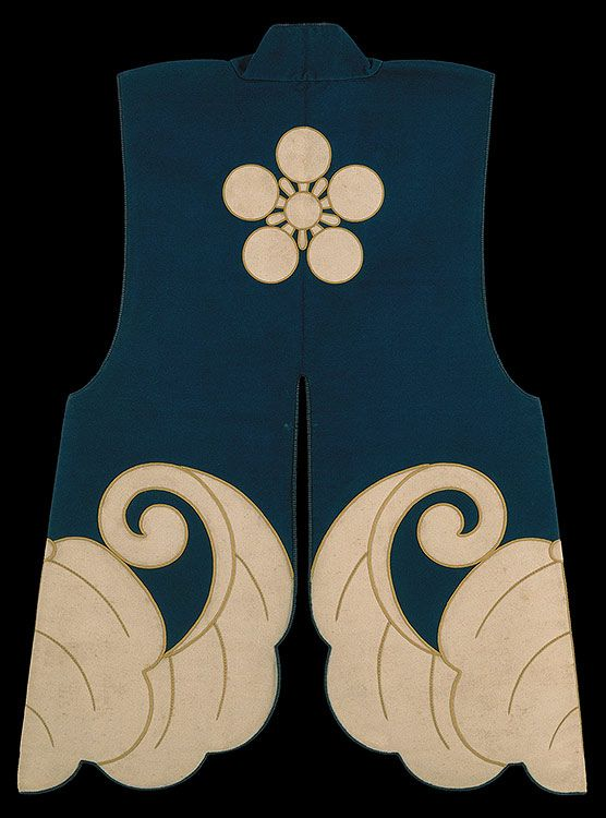Jimbaori or formal campaign jacket for wearing over armor, Japan