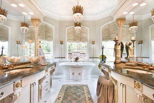 313 best {Dream Bathroom} images on Pinterest   Bathroom, Half ...