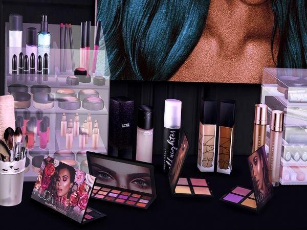 Makeup Organization Bedroom
