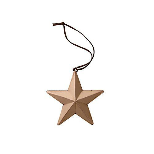 Bloomingville hängender Stern, Metall, kupfer (Ø 19,5 x 2cm)