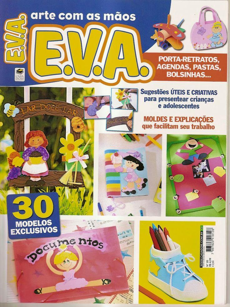 Artesanato com amor...by Lu Guimarães: Revista Arte com as mãos EVA n 20
