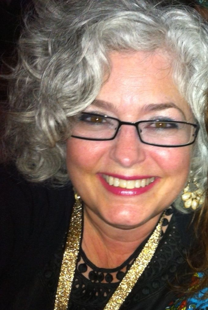 Curly gray hair; like the glasses frames Graying ...